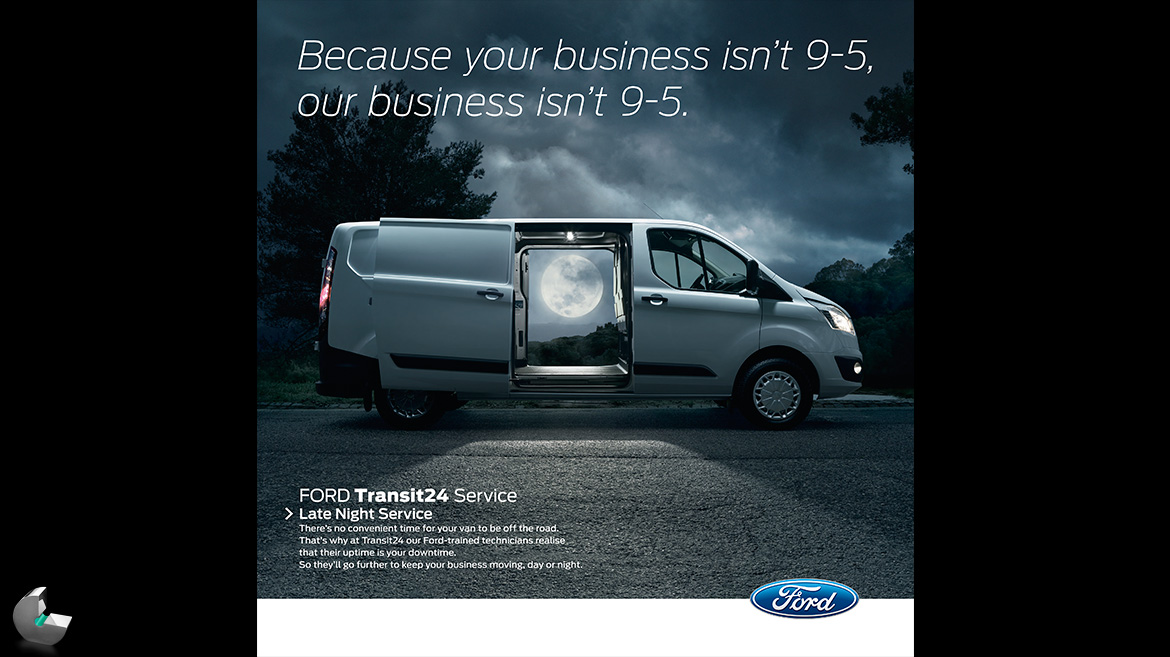 Ford Transit Moon